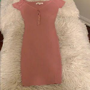 Brand new pink mini dress
